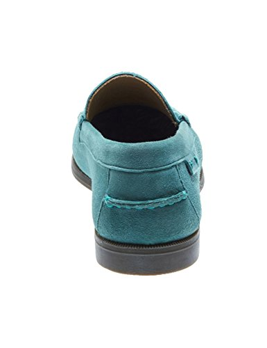 4 E Plaza In w Sebago Turquoise Women's Size Suede Loafers Uk Ii vCYzS5wqx