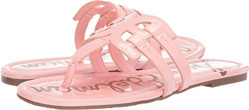 Sam Edelman Women's Cara Sandal, Peach Sorbet Patent, 8 M US