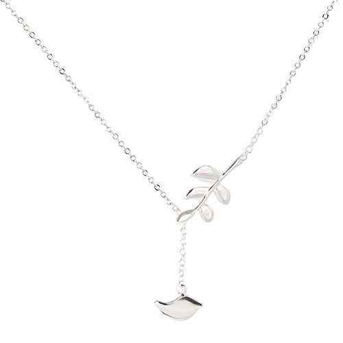 (Lolo Jewelry If You're a Bird, I'm a Bird Sterling Silver Pendant Necklace)