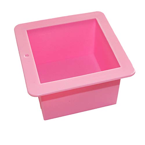 X-Haibei Large Cube Square Soap Candle Cake Jelly Candy Silicone Mold Mould