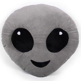Emojicon Alien Pillow