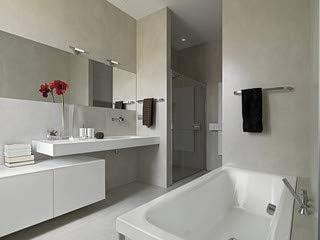 Bagno Moderno Con Vasca E Box Doccia In Muratura 43295425 Poster 120 X 90 Cm Amazon Co Uk Kitchen Home