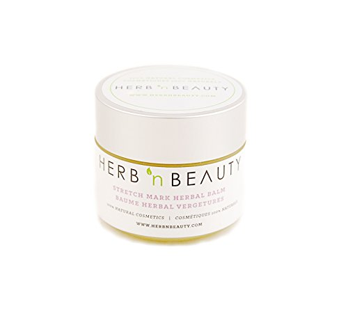 Herb N' Beauty Herbal Balm for Skin, 97.6 mL (Stretch Marks)