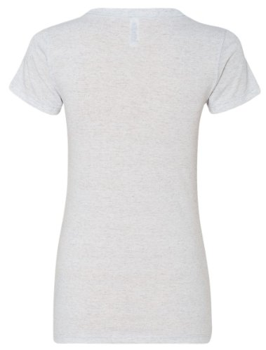 Kariban Vintage KV2104-Camiseta de manga corta Trimezcla Salpicado Blanco