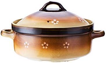キャセロールクッキングポットダッチオーブンクレイポッ鋳鉄キャセロール鍋陶器鍋厚い陶磁器,粘土のキャセロールとキャセロール エナメル セラ