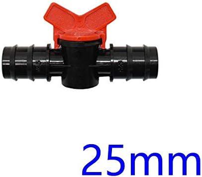 "Qiyuezhuangshi001 1/2"" 3/4"" 1"" ガーデンタップDN10 DN15 DN20灌漑水バルブミニバルブコネクタ16ミリメートル20ミリメートル25ミリメートルガーデンホースアダプタ30个 (色 : 25mm)"
