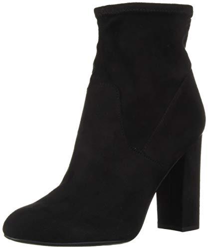 Circus by Sam Edelman Women's Carinda Fashion Boot, Black Stretch Microsuede, 8.5 M US