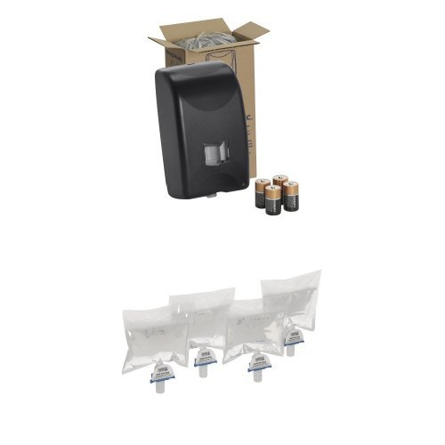 Georgia-Pacific 53010 Automated Soap and Sanitizer Dispenser Bundle with 4 Foam Soap Cartridges