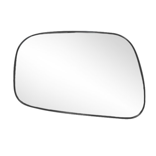 (Fit System 88175 Toyota Camry Sedan Left Side Power Replacement Mirror Glass with Backing Plate)