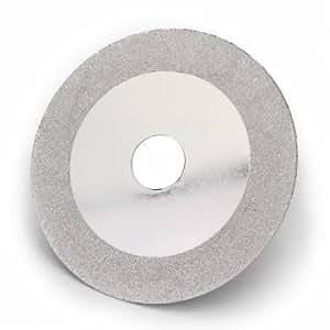 100mmx20mm corte disco corte de diamantes plata para cortar cerámica vidrio