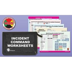 MULTI-HAZARD INCIDENT COMMAND WORKSHEET KIT, how to survive a natural disaster
