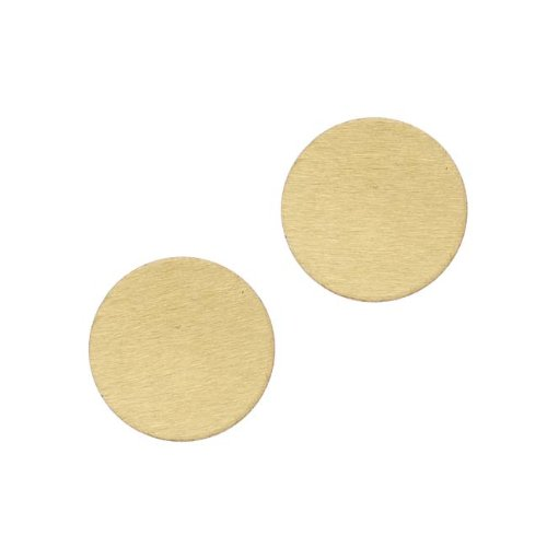 Aluminum Blank Circle Stamping Gold 16mm (2) (Lillypilly Aluminum Circle)