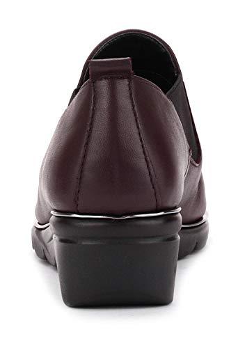 2 Bordeaux Femme Chaussure The Boomerang Flexx EYwOCn1q1