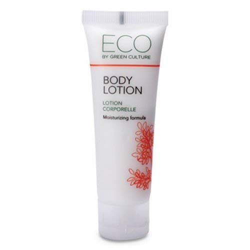 Green Clean Eco (Eco by Green Culture Hotel Amenities Travel Sized Hand & Body Lotion 30ml (288 Pack))