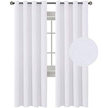Amazon Com H Versailtex Linen Curtains 108 Inches Room