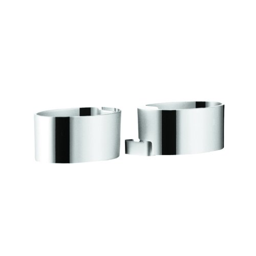 Hansgrohe 28698000 Raindance Cassetta Double Soap Dish Holder, Chrome by Hansgrohe