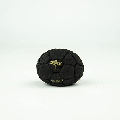 Dragonfly Footbags Midnight 32 Panel 75 Gram Metal Filled (Hacky Sack)