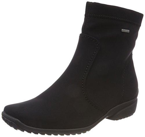 Snow Gor Womens Tex Boots ARA Portofino Noir St Noir XqBxwSz