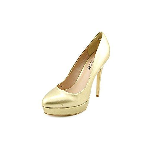 Exchange By Charles David Taffy Women US 8.5 Gold Platform Heel