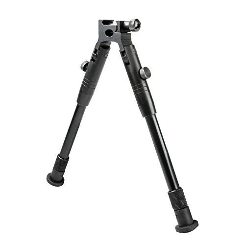 NcStar Compact Stream Line Bipod with Weaver Style Mount, Black (ABWS)