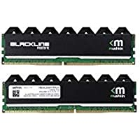 Mushkin Enhanced Blackline 16GB (2 x 8GB) PC4-19200 2400MHz DDR4 288-Pin DIMM Desktop Memory