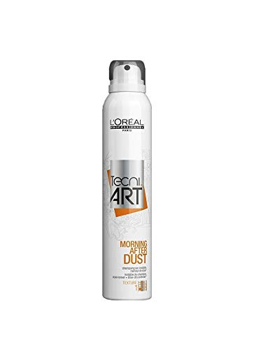 Loreal Tecni Art Morning After Dust Invisible Dry Shampoo 200ml 6.8oz (Best Dry Shampoo 2019)