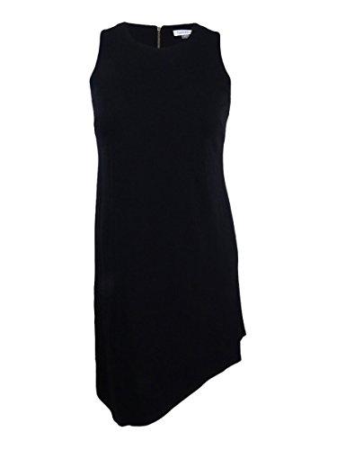 Shift s Klein Klein Asymmetrical 4 Women Calvin Calvin Black Women Dress s Shift Asymmetrical qZftv