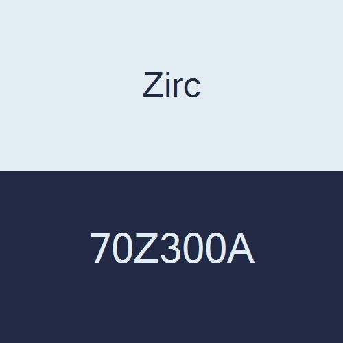 Zirc 70Z300A E-Z ID Tape Roll, 5.72 cm x 0.95 cm x 4.13 cm Size, 3.05 M Roll, White