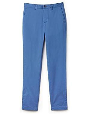 Lacoste Men's Men's Light Blue Chino Pants in Size W38 (48 EU) Blue