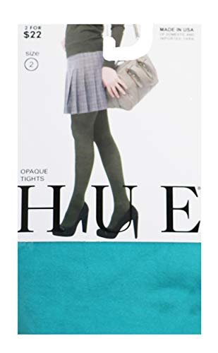 - HUE Opaque Tights, 2, Baltic
