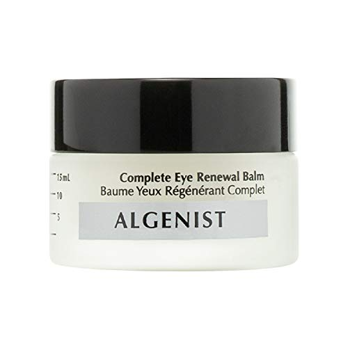 Algenist Complete Eye Renewal Balm – Vegan Hydrating & Soothing Under Eye Primer with Vitamin C, Caffeine and Cucumber – Non-Comedogenic & Hypoallergenic Skincare (15ml / 0.5oz)