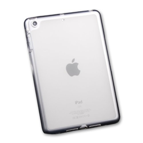 Ceslysun iPad Mini Tpu Case, Clear Soft TPU Gel Silicone Bumper Case Skin Cover for Apple iPad Mini (Clear Silicone Skin Case)