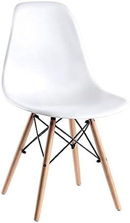 Regalos Miguel - Sillas Comedor - Silla Tower Basic - Blanco - Envío Desde España