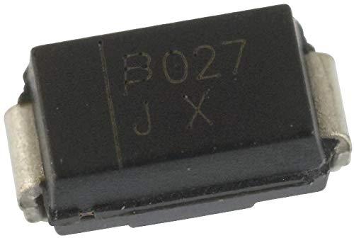 SMAJ48A - TVS Diode, SMAJ Series, Unidirectional, 48 V, 77.4 V, DO-214AC, 2 Pins (SMAJ48A) (Pack of 100)