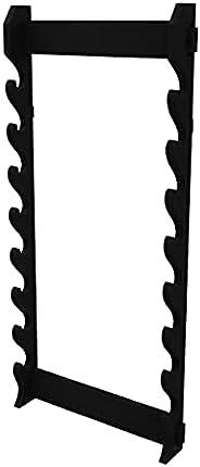 Trademark 20-WS8W 8 Piece Wall Stand Display Rack