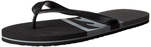 Billabong Mens Cove Flip-Flop Black/Charcoal