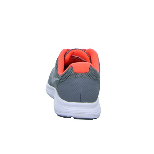 Nike Mädchen Revolution 3 Gs Gymnastikschuhe Grau (Grau)