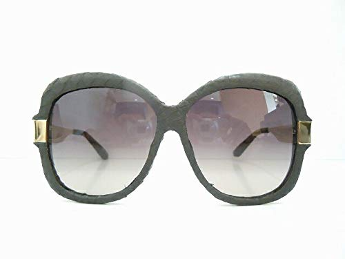 LINDA FARROW (リンダファロー) LFT/130/1 サングラス めがね 眼鏡 サングラス 革張り 本革   B07K1SPHZJ
