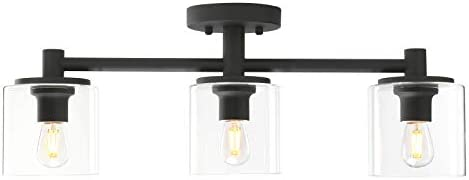 Pathson 3-Light Semi Flush Mount Ceiling Light