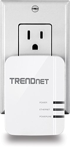 TRENDnet Powerline 1200 AV2 Single Adapter with Gigabit Port, Plug and Play, MIMO, Beamforming, TPL-420E by TRENDnet (Image #4)