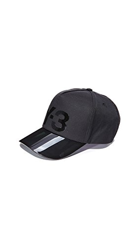 Y-3 Men's Visor Cap, Black, One Size