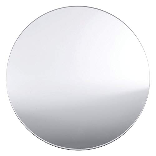 """Cal Mil Round Mirror Serving Tray Acrylic 16""""D"""