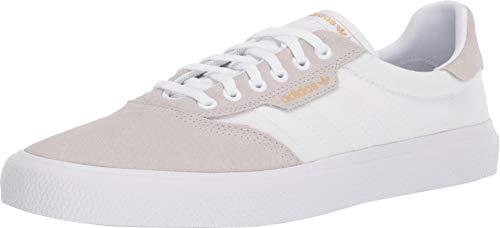 (adidas Skateboarding Men's 3MC Off-White/Crystal White/Gold Metallic 6 D US )