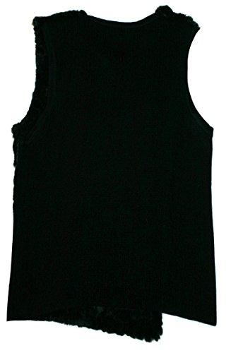 Stretch Kniestiefel zum Schnüren matt schwarz FLAMINGO-2023