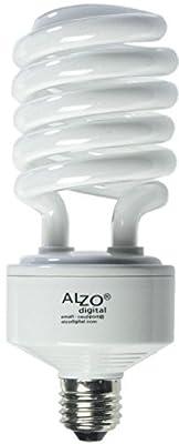 Alzo Digital 45W 120V Joyous Light Full Spectrum CFL Light Bulb, 5500K, 2800 Lumens
