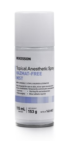 - McKesson Topical Anesthetic Spray 115 mL