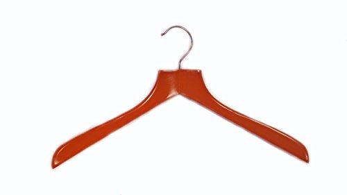 (Cherry Finish Deluxe Coat Hanger (Set of)
