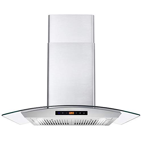 Cosmo 668WRCS75 30 in. Wall Mount Range Hood with 760