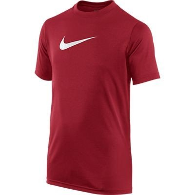 Boy's Nike Legend Dry Training T-Shirt Varsity Red/White Size Medium