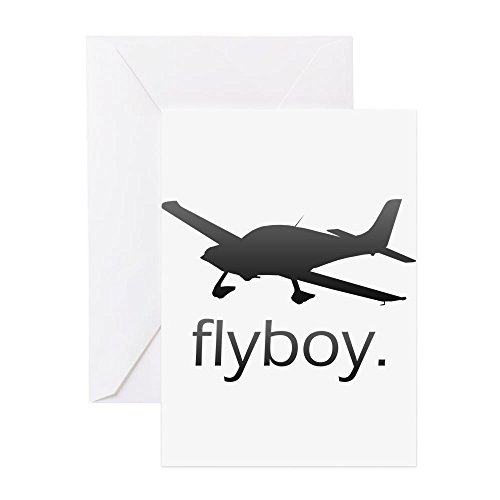 CafePress - Flyboy Student/Private Pilot - Greeting Card, Note Card, Birthday Card, Blank Inside Glossy ()